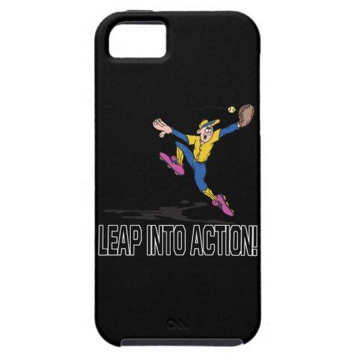 Salte en la acción iPhone 5 cárcasa