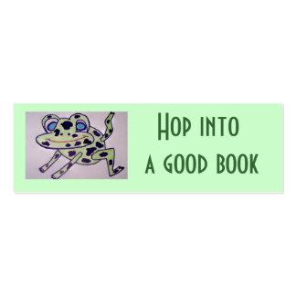 Salte en un buen libro tarjetas de visita
