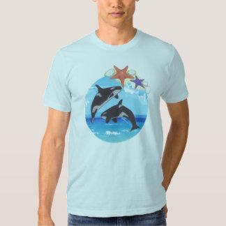 salte las ballenas camisas