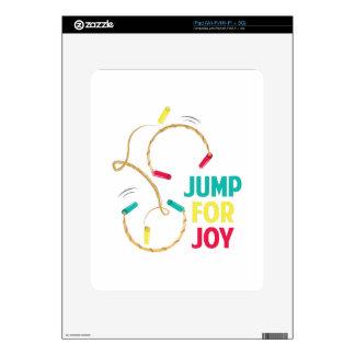 Salte para la alegría calcomanías para iPad