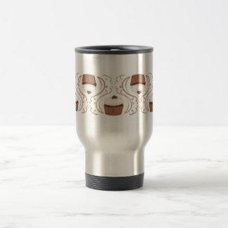 Salted Caramel Cupcake 15 Oz Stainless Steel Travel Mug