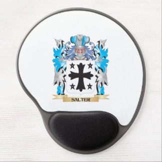 Salter Coat of Arms - Family Crest Gel Mouse Pad