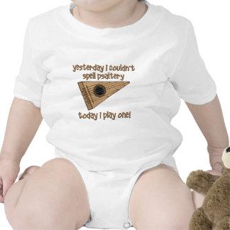 salterio divertido traje de bebé