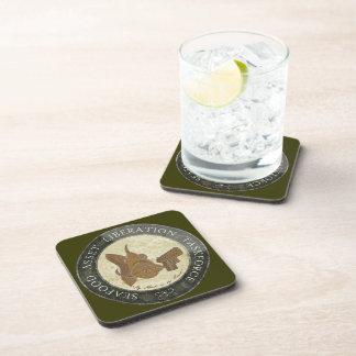 SaltForce 9 Drink Coaster