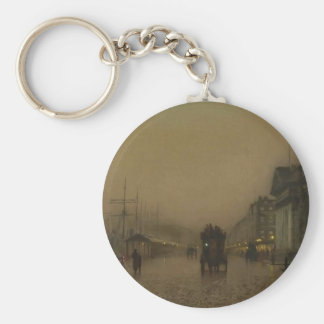 Salthouse Dock, Liverpool by John Grimshaw Key Chains
