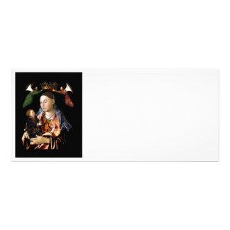 Salting Madonna and Christ Child Rack Card