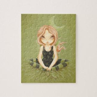 Salting Slugs- Cute fairy Puzzle