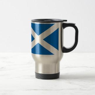 Saltire de Escocia, bandera escocesa (color Taza Térmica