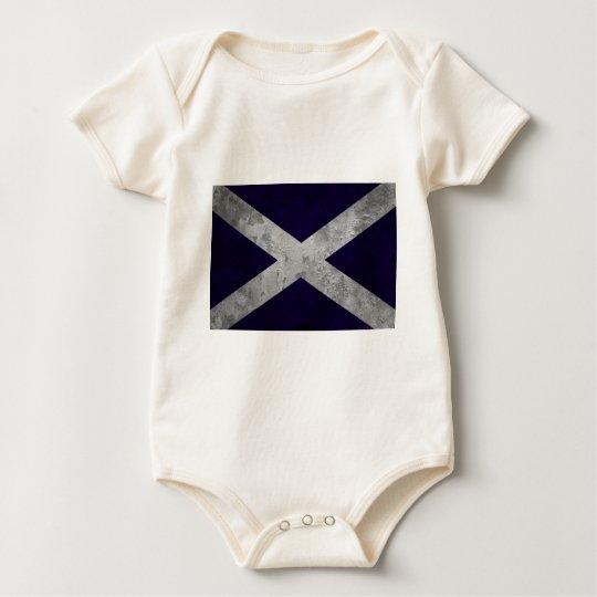 Saltire Grunge Baby Bodysuit