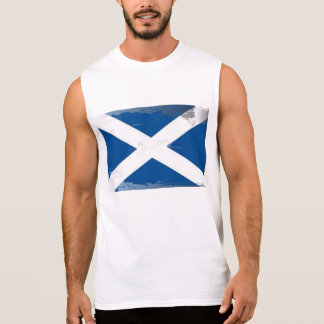 Saltire Sleeveless T-shirt