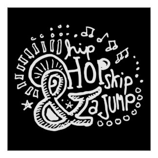 Salto 2 del salto de Hip Hop Póster