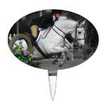 Salto árabe del caballo palillos de tarta