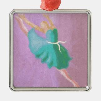 Salto azul de la danza ornato