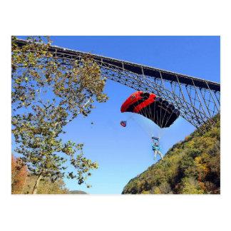 Salto BAJO del puente de Perrine - Idaho Postal