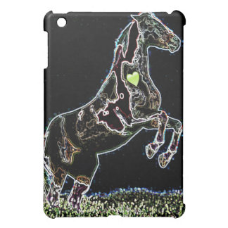 Salto caso del ipad negro del diseño gráfico del c iPad mini protector