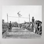 Salto con pértiga de Jerusalén, los años 30 Posters