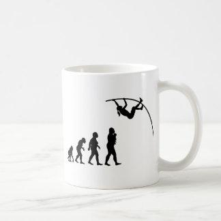 Salto con pértiga tazas de café