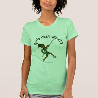 Salto con pértiga - verde (oscuro) camisetas
