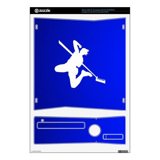 Salto de altura azul consola xbox 360 s skins
