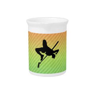 Salto de altura jarra para bebida