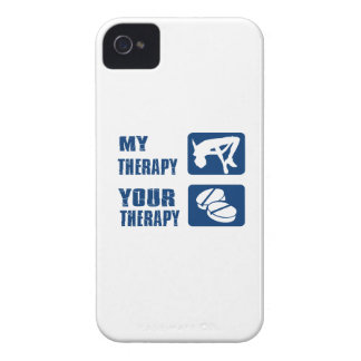 Salto de altura mi terapia iPhone 4 carcasa