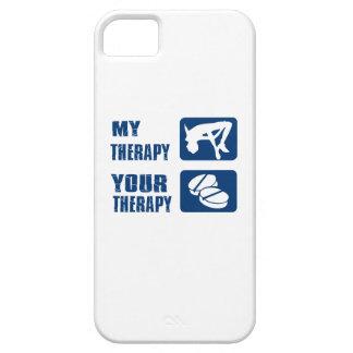 Salto de altura mi terapia iPhone 5 carcasa