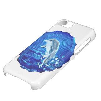 Salto de arte del delfín funda iPhone 5C