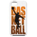 Salto de Basketballer del jugador de básquet iPhone 5 Coberturas
