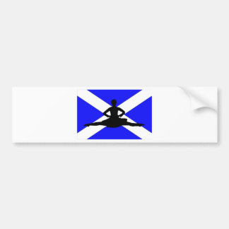 Salto de Escocia Pegatina Para Auto