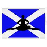 Salto de Escocia Tarjetón