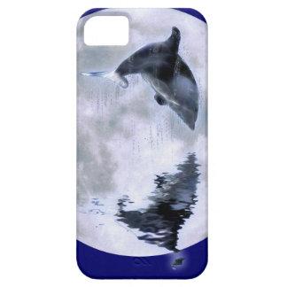 Salto de la caja marina del teléfono celular del funda para iPhone SE/5/5s
