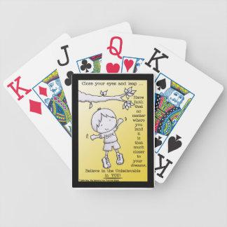 Salto de la fe baraja de cartas