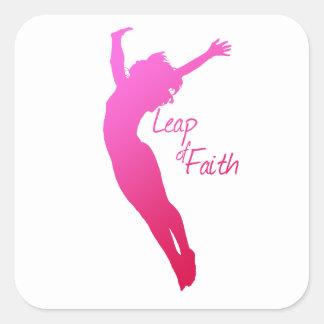 Salto de la fe colcomanias cuadradases