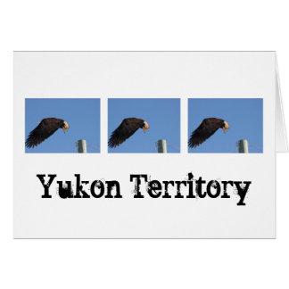 Salto de la fe; Recuerdo del territorio del Yukón Felicitacion
