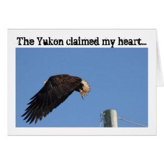 Salto de la fe; Recuerdo del territorio del Yukón Felicitaciones