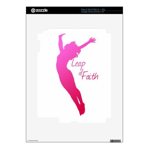 Salto de la fe skin para el iPad 2