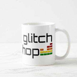 Salto de la interferencia con el equalizador del v tazas de café