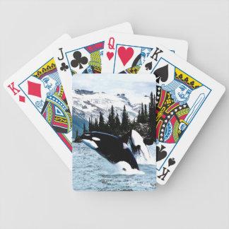 Salto de la orca cartas de juego