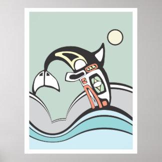 Salto de la orca posters