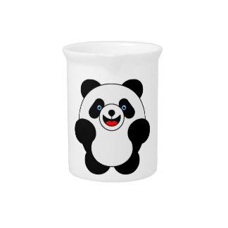Salto de la panda jarrón