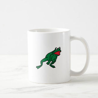 Salto de la rana taza clásica
