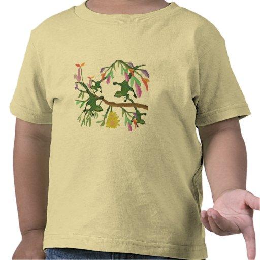 Salto de lagartos camiseta