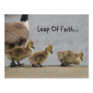 Salto de las postales de la fe