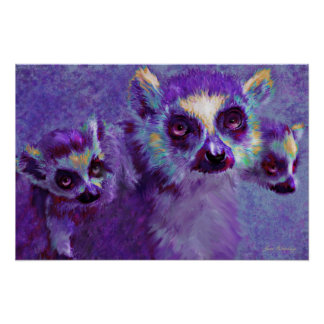 salto de lemurs posters