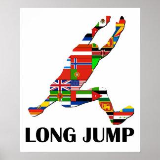 Salto de longitud póster
