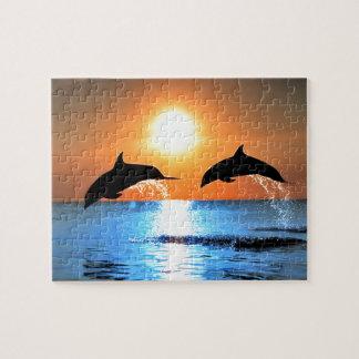 Salto de los delfínes puzzle