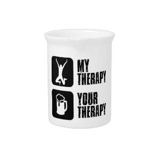 salto de mi terapia jarras