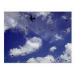 Salto de paracaídas de Dakota, divisiones aerotran Tarjetas Postales