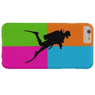 Salto del amor-equipo de submarinismo I - caja del Funda Para iPhone 6 Plus Barely There
