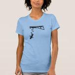 Salto del amortiguador auxiliar camisetas